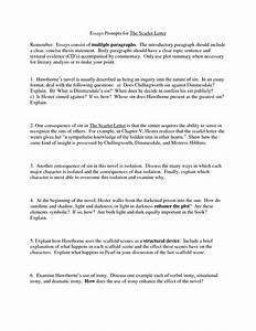 essay on scarlet letter napoleon bonaparte essay