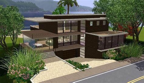 sims modern house house plans