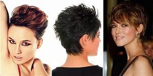 Coupe Courte Tendance 2019 : 10 coupes ultra courtes pour femme tendance 2019 coiffure simple et facile ~ Dallasstarsshop.com Idées de Décoration