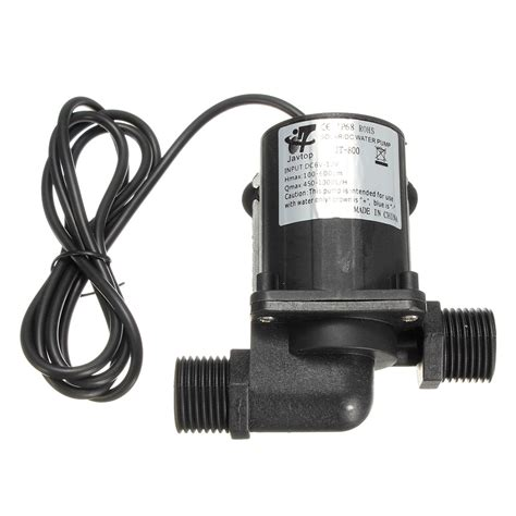 dc  electric solar brushless motor water pump