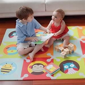 Tapis Pour Chambre Enfant : le tapis puzzle accessoire pour le salon et jouet enfant ~ Melissatoandfro.com Idées de Décoration