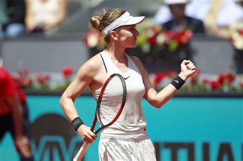 Simona Halep vs. Ekaterina Makarova | 2018 Mutua Madrid Open First Round | WTA Highlights