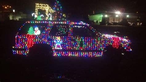 matts christmas art car christmas light source