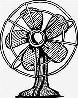 Fan Drawing Electric Cooling Fashioned Graffiti Painted Getdrawings Drawings sketch template