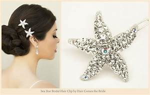 Starfish Bridal Hair Accessories For Your Beach Wedding