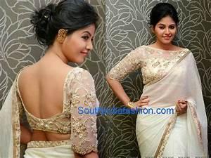 Image result for boat neck saree blouse manish malhotra ...
