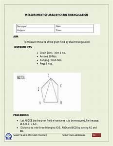 Avinesh Surveying Lab Manuals