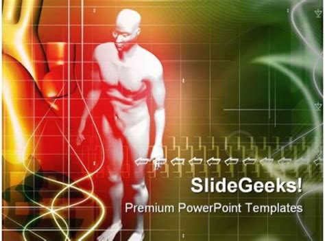 human body science powerpoint templates  powerpoint