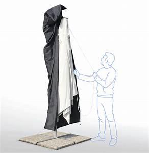 Parasol Grande Taille : housse pour parasol de jardin sac parasol grande taille universel ~ Melissatoandfro.com Idées de Décoration