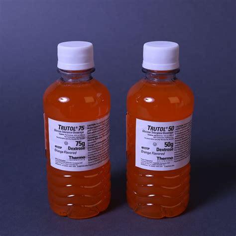 nerl trutol glucose tolerance test beverages
