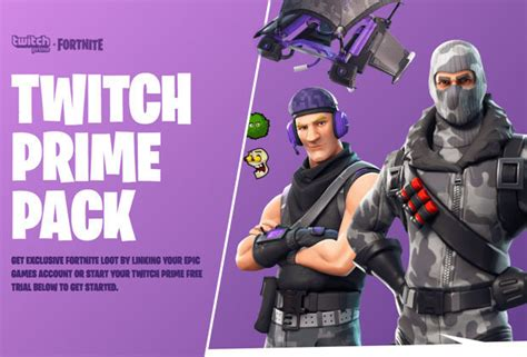 Fortnite Twitch Prime Skins, Loot And More