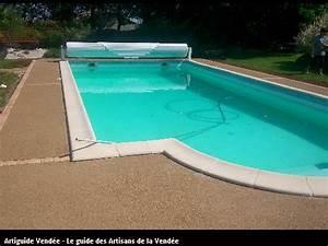 bernier maurice paysagiste 85400 lucon With beton autour d une piscine