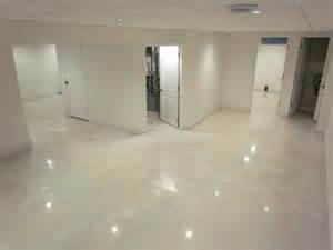 epoxy flooring white 35 best images about basement floor on pinterest vinyls tile looks like wood and modern basement