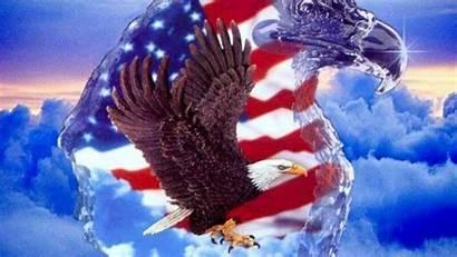 Desktop Patriotic Flag American Eagle Backgrounds Military