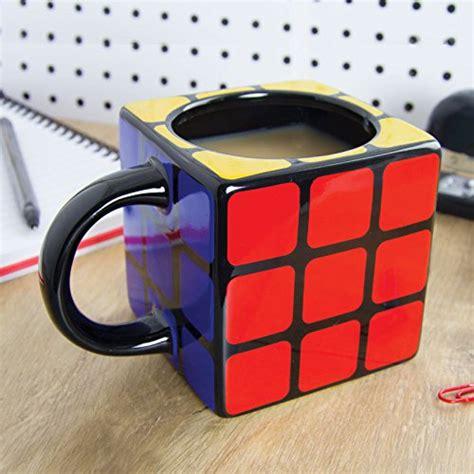 Rubiks Cube Ceramic Coffee Mug  Large Novelty Mugs Buy