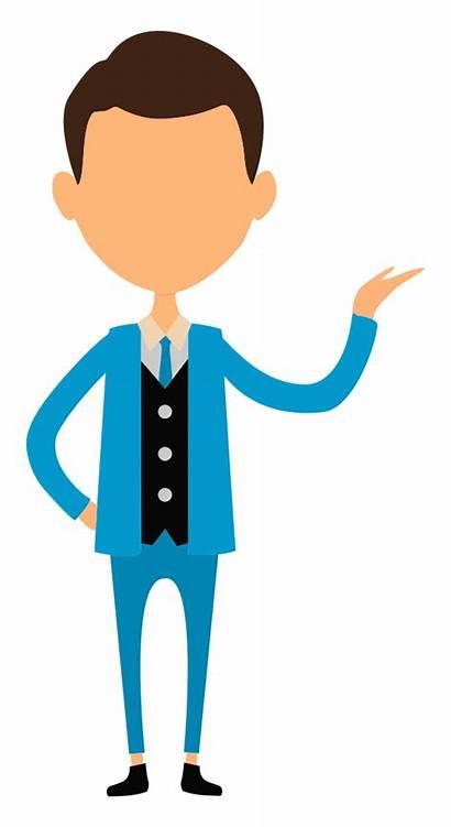 Clipart Clip Presentation Business Onlinelabels Businessman Cliparts