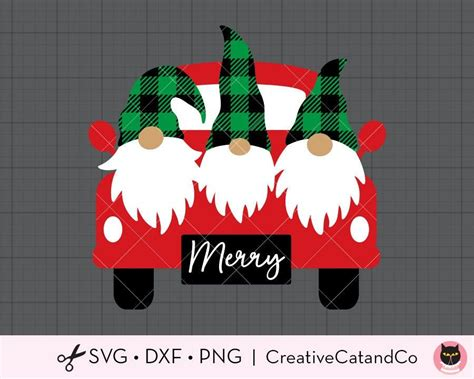 Choose from over a million free vectors, clipart graphics, vector art images, design templates, and illustrations created by artists worldwide! Christmas Truck with Gnomes SVG DXF Cute Buffalo Plaid ...