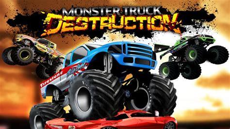 monster truck games video monster truck destruction full game free download