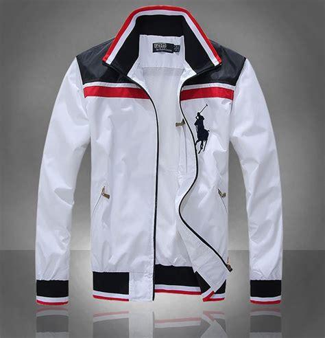 white jakcet big pony  polo ralph lauren men jacket