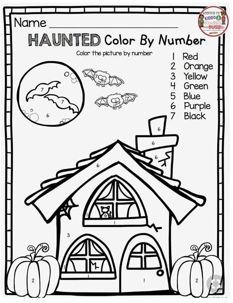 math coloring worksheets halloween pin  lucie davis