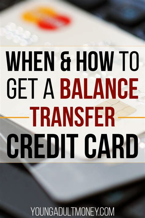 Credit monitoring can help you detect possible identity fraud sooner, and can help prevent surprises when you apply for credit. When and How to Get a Balance Transfer Credit Card | Young Adult Money