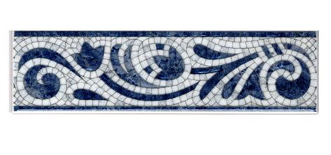 bathroom wall tile designs ceramic tile border with blue and white colors ideas