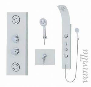Duschpaneel Mit Thermostat : duschpaneel thermostat glas duschs ule brausepaneel ~ Michelbontemps.com Haus und Dekorationen