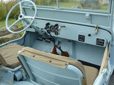 willys jeep interior nhl 843 1943 willys mb jeep interior flickr photo