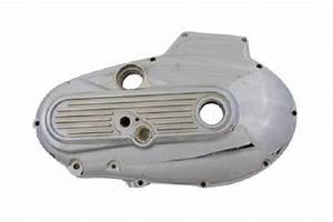 Xl Ironhead Sportster Aluminum Outer Primary Cover Chrome 77