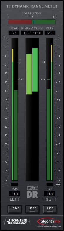 tt dynamic range meter vst анализаторы создание электронной музыки