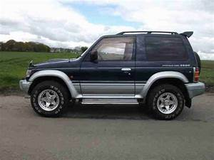 Mitsubishi 1996 Pajero 2 8td Manual Blue Silver  Car For Sale