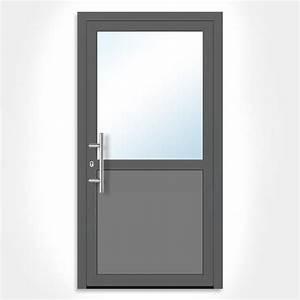 Porte Interieur Grise : porte de service grise design intemporel ~ Mglfilm.com Idées de Décoration
