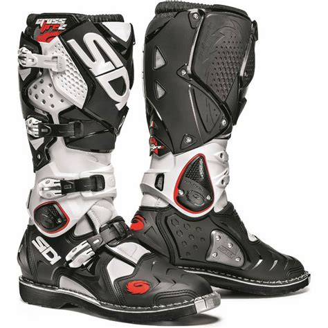 motocross motorcycle boots sidi crossfire 2 mx enduro off road steel toe motocross