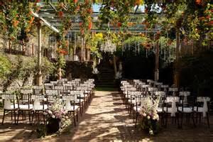 outdoor wedding reception venues enchanted garden wedding venue onewed