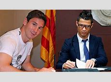 Barcelona Messi, Cristiano Ronaldo to sign with Real