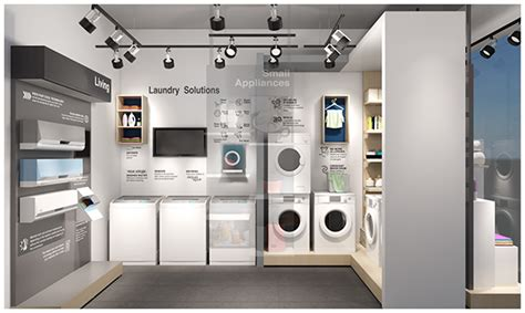 ifb point appliance store design  pantone canvas gallery