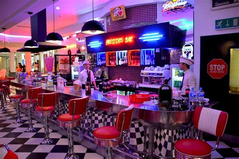 American Diner Red Chairs Cafe · Free Photo On Pixabay