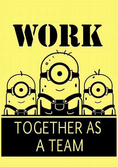 Minion Team Minions Together Quotes Despicable Toilet