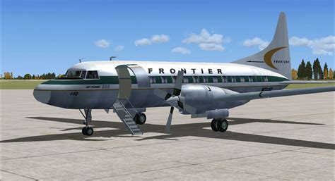 Frontier Convair 580 for FSX