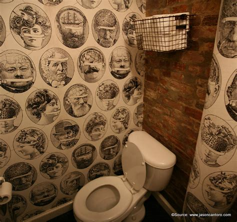 montreal  quirky restaurant  bar restrooms