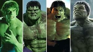 La evolución de Hulk a través de los años - YouTube