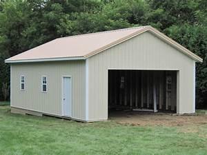 24 x 32 x 10 amazing 24x32 pole barn plans 4 With common pole barn sizes