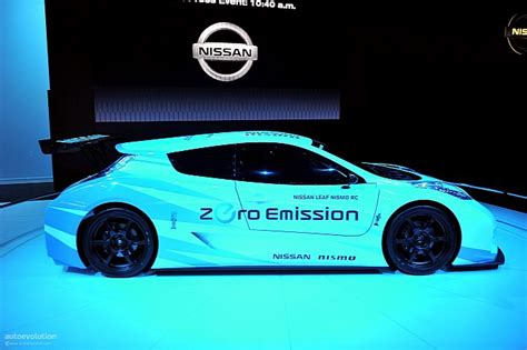Nissan Leaf NISMO RC to Flex Its Muscles at Le Mans ...