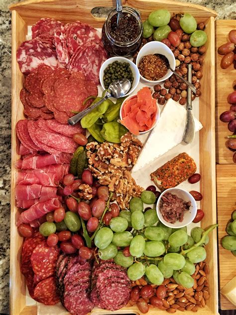 Ideas Italian by Charcuterie Board With A Mixture Of Italian And Russian