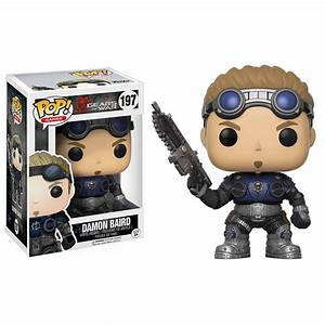 Damon Baird Armored POP Gears Of War POP39s Funko Figure