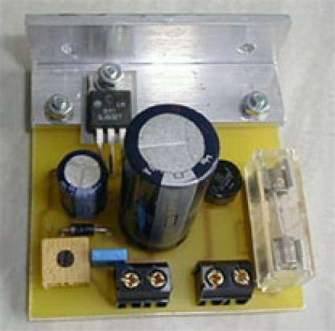 Variable Volatage Regulator Electronics Tutorials