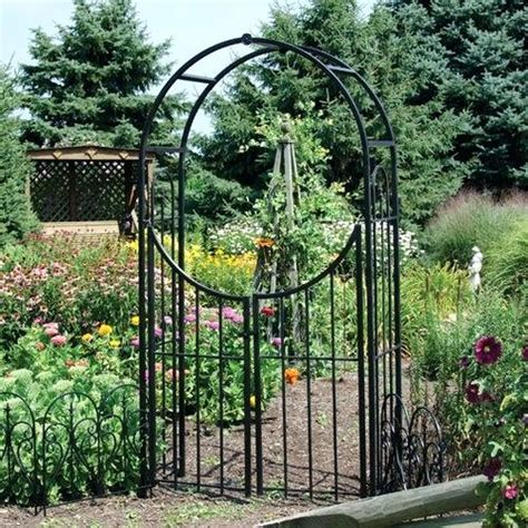 lowes garden gates garden gate with arbor more views wood garden arbor gates