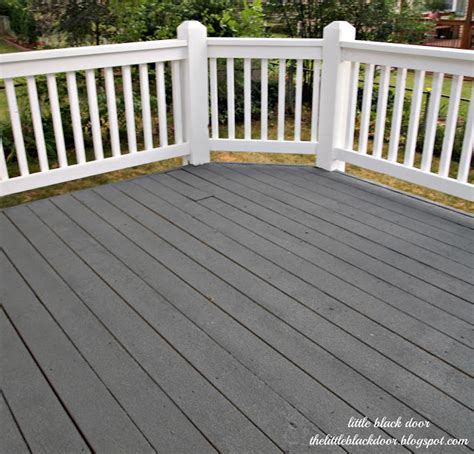 patio paint colors ideas black door i wear my sunglasses at deck reveal