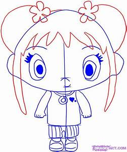 How To Draw Kai Lan, Step by Step, Nickelodeon Characters ...