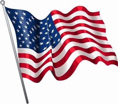 Flag American Vector Illustrations Clip Royalty Illustration